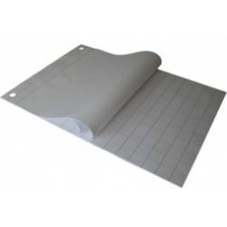 Bloknotas konferencijų stovui, 60 x 85 cm, 20 lapų, languotas