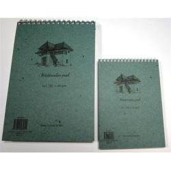 Akvarelinio popieriaus bloknotas. A5, 20 lapų (280gsm)
