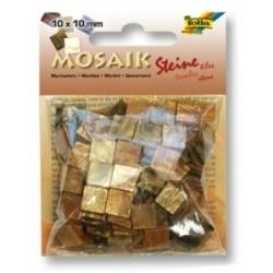 Plytelės mozaikai 190 vnt. FOLIA, rudos