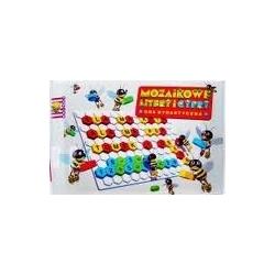 """Žaidimas-dėlionė """"Mozaika raidės-skaičiai"""""""