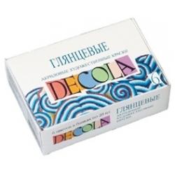 """Akrilinių dažų rinkinys """"DECOLA"""" 12 spalvų"""