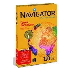 Biuro popierius NAVIGATOR COLOUR DOCUMENTS, A4 formatas, 120 g/m², 250 lapų