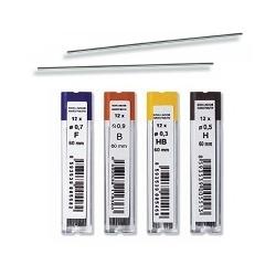 """Grafitai automatiniams pieštukams 0,5mm """"2B"""" Koh-I-Noor"""