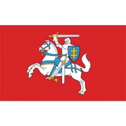 Lietuvos Respublikos istorinė vėliava su kišene ir raišteliais 1x1,7m