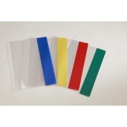 Aplankalas reguliuojamas sąsiuviniams A5 skaidrus (spalvoti kraštai)