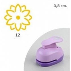 "Dekoratyvinis skylamušis Nr. 12 ""3-D gėlė"", 38 mm."