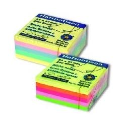 Lipnių lapelių kubas, 51 x 51mm, 250 lapelių, neoninių įv. spalvų