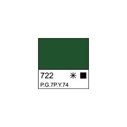 """Akriliniai dažai dailei """"Ladoga"""" 220ml. žalios spalvos"""