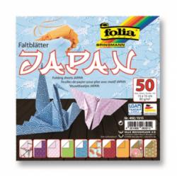 """Origami """"JAPAN"""" 50 lapų 15*15 FOLIA, įvairūs motyvai"""