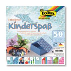 """Origami """"KIDS"""" 50 lapų 20*20 FOLIA, įvairūs motyvai"""