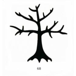 "Dekoratyvinis skylamušis 76 mm. Nr. 68 ""Medis"""