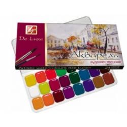 """Akvarelė """"Liuks"""" LUČ 24 spalvų"""