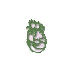 """Trafaretas  piešimui LUČ """"Ananasas ir vaisiai"""""""