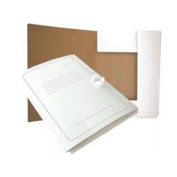 Segtuvas su raišteliais A4, 300gsm, baltas, su spauda