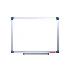 Rašomoji lenta,60 x 90 cm, aliuminio rėmas, magnetinė, balta