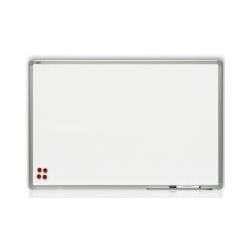 Rašomoji lenta, 180 x 120 cm, aliuminio rėmas, magnetinė, balta