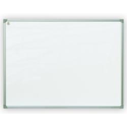 Rašomoji lenta, 200 x 100 cm, aliuminio rėmas, magnetinė, balta
