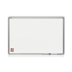 Rašomoji lenta, 240 x 120 cm, aliuminio rėmas, magnetinė, balta
