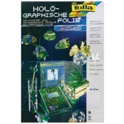 Holografinė folija 4 lapai, FOLIA