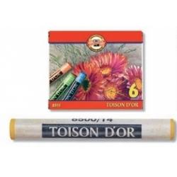 Spalvotos sausos pastelės rinkinys 8511 Koh-I-Noor, 6 spalvų