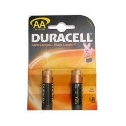 Baterijos DURACELL AA, LR06, 2 vnt.