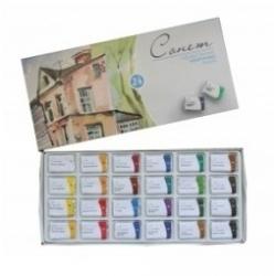 """Akvarelinių dažų rinkinys """"SONET"""" 24 spalvų"""