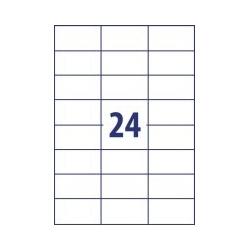 Lipnios etiketės 70x35mm 24 lipdukai, 012