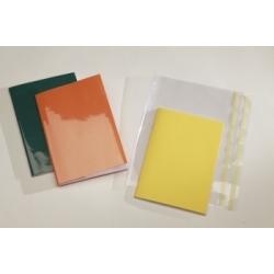 Aplankas kontorinėms knygoms ir sąsiuviniams A4, skaidrus, klijuojamas