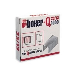 Sąsagėlės BOXER-Q, 23/13, 1000 vnt