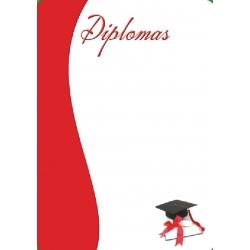 Diplominis popierius 160g Nr. 08 ''Abiturientas''