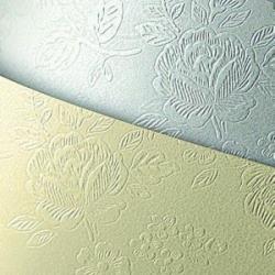 Tekstūrinis kartonas FLORAL white