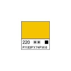 """Akriliniai dažai dailei """"Ladoga"""" 220ml.vidut. geltonos sp."""