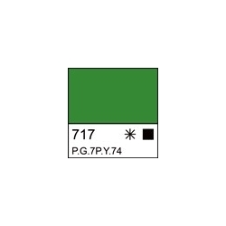 """Akriliniai dažai dailei """"Ladoga"""" 220ml. šv. žalios spalvos"""