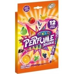 """Flomasteriai kvepiantys """"PERFUME XPLOSION"""" CARIOCA, 12 spalvų"""