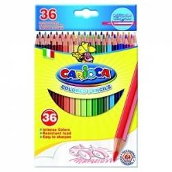 Spalvoti pieštukai CARIOCA, 36 spalvų