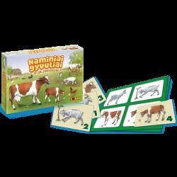 """Žaidimas """"Naminiai gyvuliai ir jų jaunikliai"""