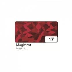 "Lipni holografinė folija rulone 40x100 cm.,""Magiška raudona""  FOLIA"