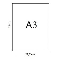 Popierius braižybai A3, 250 g., 20 lapų