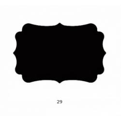 "Dekoratyvinis skylamušis 76 mm. Nr. 29 ""Figūra"""