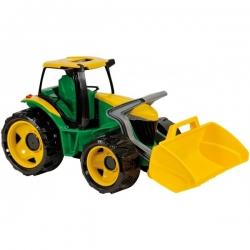 """Galingas traktorius """"Lena"""" žalias, 62cm"""