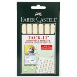 Plastilininiai klijai Faber-Castell, balti