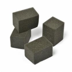 Kempinėlės 4x4x6 cm. juodos spalvos (4 vnt.)