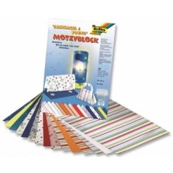 """Dekoratyvinio permatomo popieriaus ir kartono rinkinys """"ABSTRACTA & YOUNG"""", FOLIA, 30 lapų"""