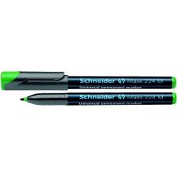 Permanentinis žymeklis SCHNEIDER OHP MAXX 224M žalios spalvos