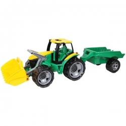 """Galingas traktorius su priekaba """"Lena"""" 110 cm"""