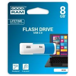 ADATA Atmintukas Adata  8GB, Ištraukiamas, Juodai raudonas