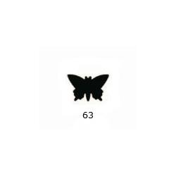Dekoratyvinis skylamušis drugelis 16 mm