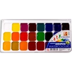"""Akvarelė """"Klasika"""" LUČ, 24 spalvų"""