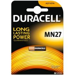 Baterija DURACELL MN27,12V, 1 vnt.
