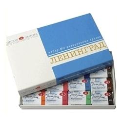 """Akvarelinių dažų rinkinys """"Leningrad"""" kartoninėje dėžutėje, 16 spalvų"""